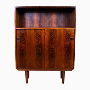 Mid-Century Danish Rosewood Sideboard Cabinet, 1960s