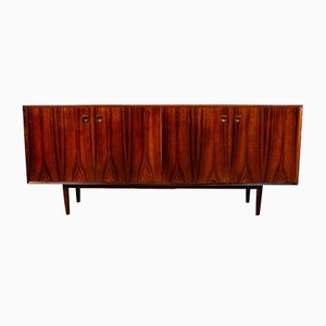 Mid-Century Danish Rosewood Sideboard with Bifold Doors by Erik Brouer, 1960s
