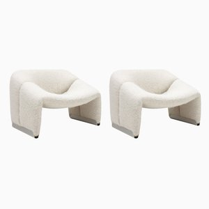 F698 Groovy Lounge Chairs by Pierre Paulin for Artifort, Netherlands, 1972, Set of 2