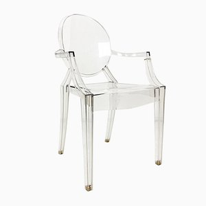 Vintage Ghost Armchair by Philippe Starck for Kartell