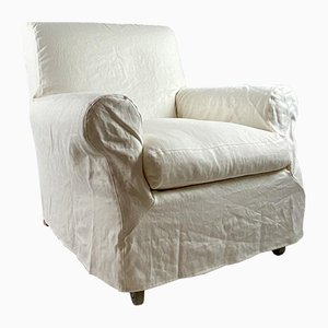 Armchair & Pouf by Nonna Maria for Flexform, 1985, Set of 2