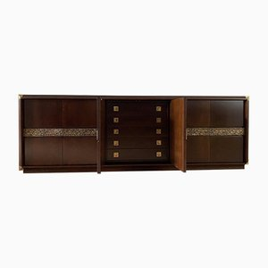 Rosewood Desiree Sideboard by Luciano Frigerio for Frigerio di Desio, 1970s