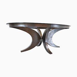 Vintage Esstisch aus Stahl