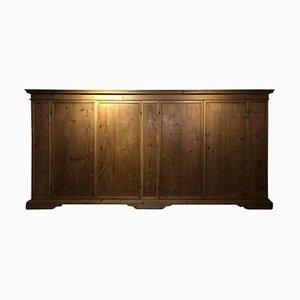 17th Century Italian Pine 4-Door Shelves Cupboards