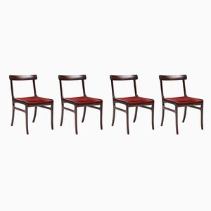 Rungstedlund Chairs by Ole Wanscher, 1960s, Set of 4