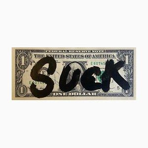 Rare Dollar Banknote Suck by Death NYC, 2017