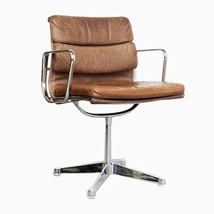 EA 107 Soft Pad Chair by Charles & Ray Eames for Herman Miller, 1980s