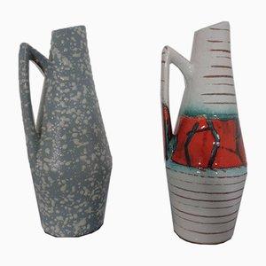 Keramik Vasen von Heinz Siery für Scheurich, 1950er, 2er Set