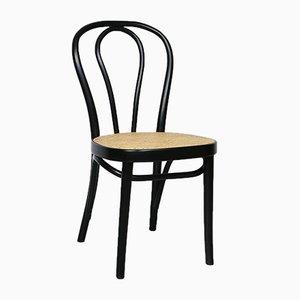Nr. 218 Schwarzer Stuhl von Michael Thonet