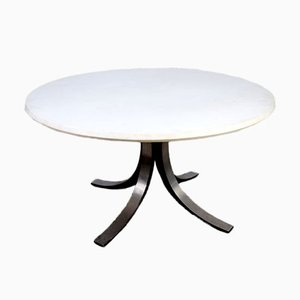 Round T69B Dining Table by Osvaldo Borsani for Tecno, 1960s