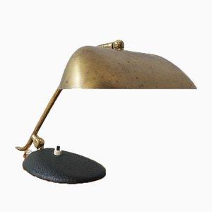 Messing Schreibtischlampe oder Klavier, 1950er