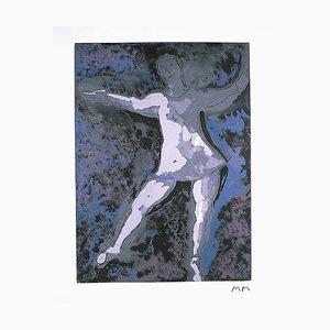Dancer II - Original Etching by Marino Marini - 1977