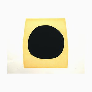 Blacks and Whites I (Acétates) - Planche F - Lithograph Gaufrage avec 1969