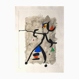 Constellation III - Original Etching by Joan Mirò - 1975