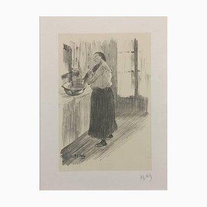 Femme à la toilette 1890-1895