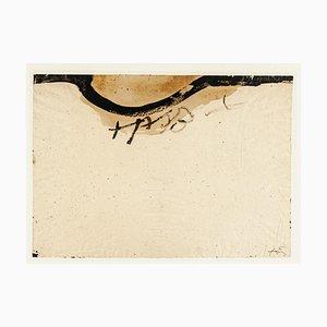 Collier - Vintage Offset Druck Nach Antoni Tàpies - 1982