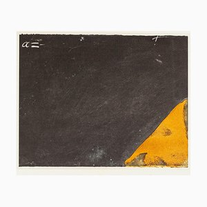 Angle - Vintage Offset Print After Antoni Tàpies - 1982