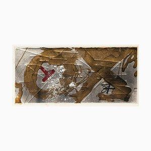 OEX - Vintage Offset Print After Antoni Tàpies - 1982