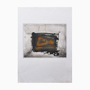 Still Life - Vintage Offset Druck Nach Antoni Tàpies - 1982