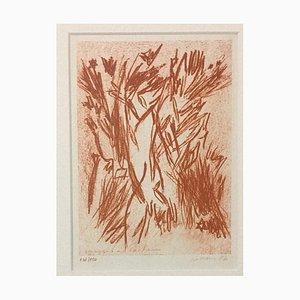 Homage to Jean Cocteau - Original Lithograph by Giancarlo Limoni - 1987