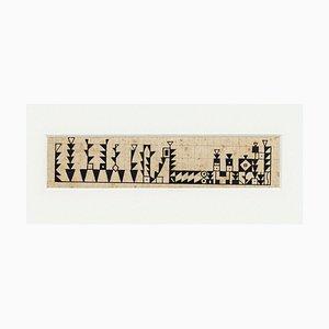 Illustration - Original Tuschezeichnung von Bruno Angoletta - Frühes 20. Jahrhundert