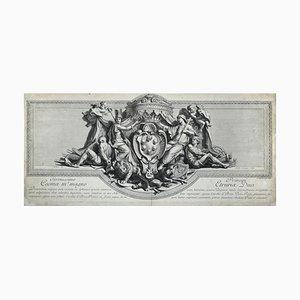 Principi Etruriae Duci - Original Radierung von Charles Simonneau - Late 1600