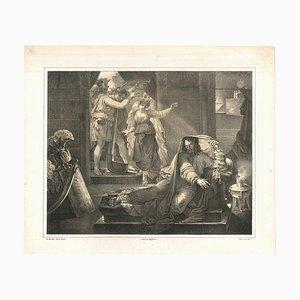 Lith de Villain - Original Lithograph by Nicolas Eustache Maurin - Early 1800