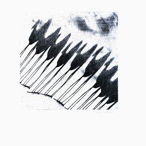 Shadow of Camels - Original Radierung von Tullio Diamanti - ca. 1980