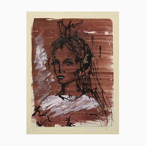 Portrait de Jeune Femme 1970