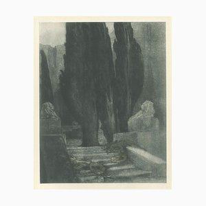 Requiem - Vintage Héliogravure by Franz von Bayros - 1921 ca. 1921 ca.
