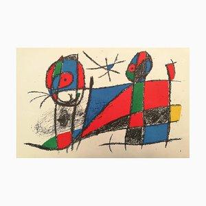 Mirò Lithographe II - Teller VI 1975