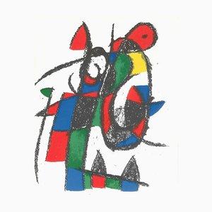 Mirò Lithographe II - Plate II 1975