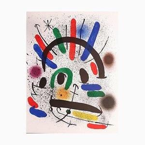 Mirò Lithographe I - Plate II 1972