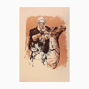 Tuareg - Original Etching by Sergio Barletta - 1976 ca.