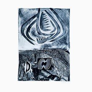 Tribal - Original Lithograph by Nani Tedeschi - 1971