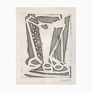 Untitled - 20th Century - Sante Monachesi - Etching - 1970 ca. 1970 ca.