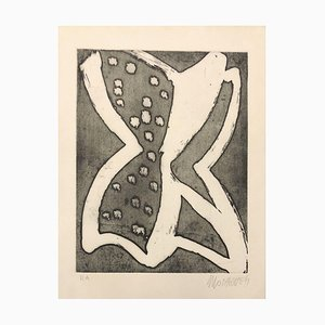 Butterfly - 20th Century - Sante Monachesi - Etching - 1970 ca. 1970 ca.