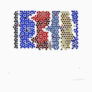 Sinuous Geometries - Original Lithographie von Mario Padovan - 1970s 1970s