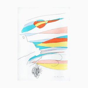 Lithographie Untitled - Original par Giulio Turcato - 1970s 1970s