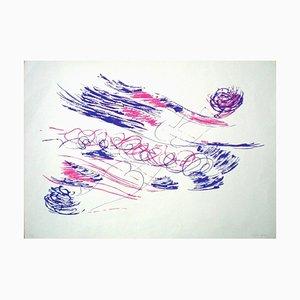 Untitled - Original Lithograph by Giulio Turcato - 1970s 1970s