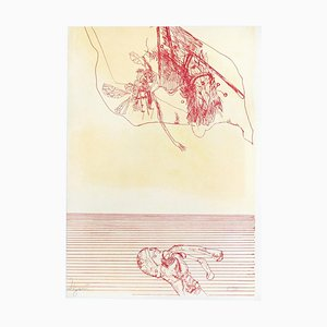 Untitled - Original Lithographie von Giuseppe Zigaina - 1970s 1970s