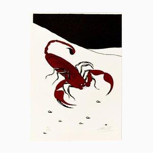 Scorpion - Original Siebdruck von Félix Labisse - 1970er 1970er