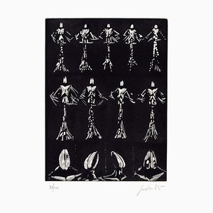 Untitled Composition - Original Radierung von Cesare Peverelli - 1973 1973