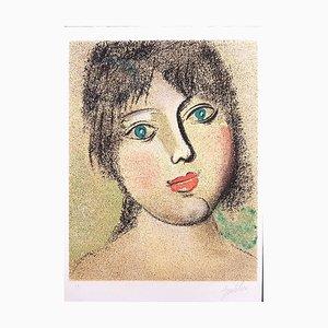 Luisa - Original Lithographie von Franco Gentilini - 1980 1980