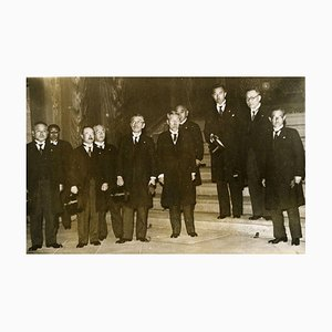 Japanese State cabinet Hiranuma - Vintage Photo 1939 1939
