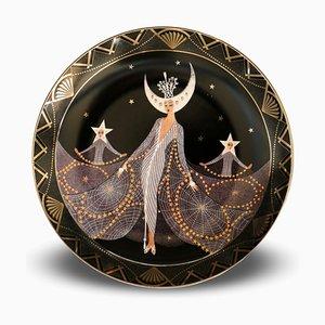 Königin der Nacht - Porzellan Sammlerplatte - 1990 1990