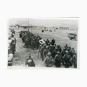 Japanese Soldiers during War in Mongolia - Vintage Photo 1939 1939