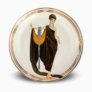 Glamour - Porcelain Collector Plate - 1990 1990
