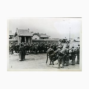 Japanese Troops at Mongolian-Chinese Border - Vintage Photo 1939 1939