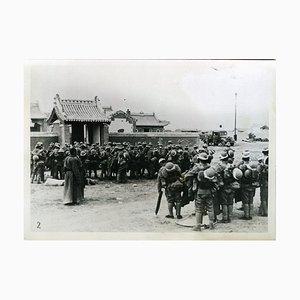 Troupes Japonaises à la Frontière Mongole-Chinoises - Vintage Photo 1939 1939